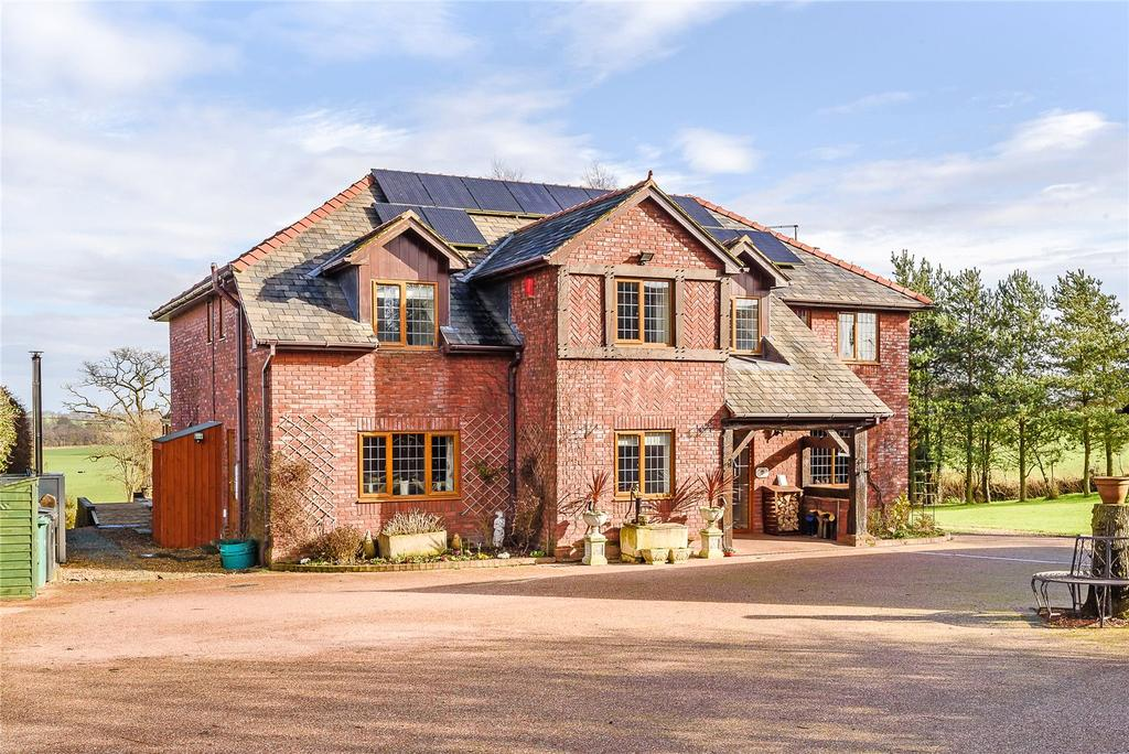 5 Bedrooms Detached House for sale in Fauls Green, Fauls, Whitchurch, Shropshire
