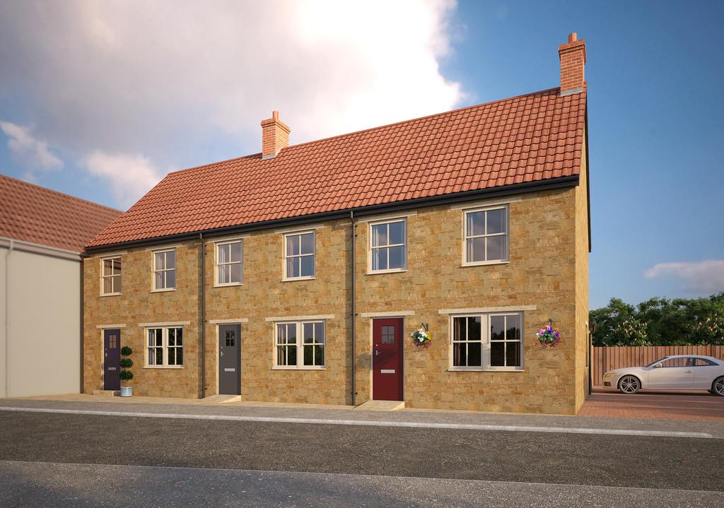 3 Bedrooms End Of Terrace House for sale in Lower Woodcock Street, Castle Cary