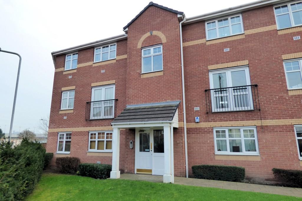 2 Bedrooms Apartment Flat for sale in Black Eagle Court, Burton Upon Trent