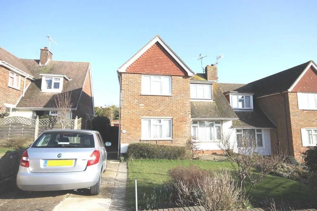 3 Bedrooms Semi Detached House for sale in Ravensbourne Avenue, Shoreham-by-Sea