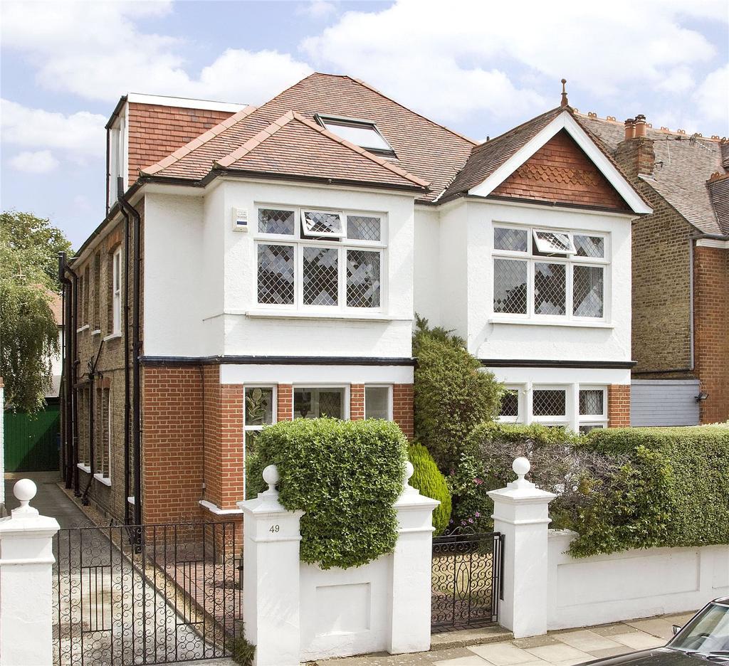 5 Bedrooms Detached House for sale in Nassau Road, Barnes, London, SW13