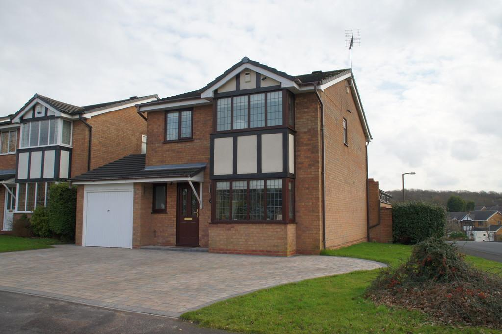 4 Bedrooms Detached House for sale in Canterbury Way, Heath Hayes, Cannock