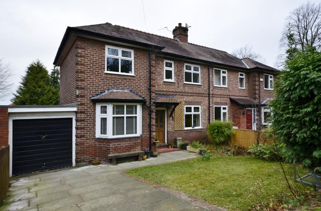 3 Bedrooms Semi Detached House for sale in Oldfield Road, Altrincham