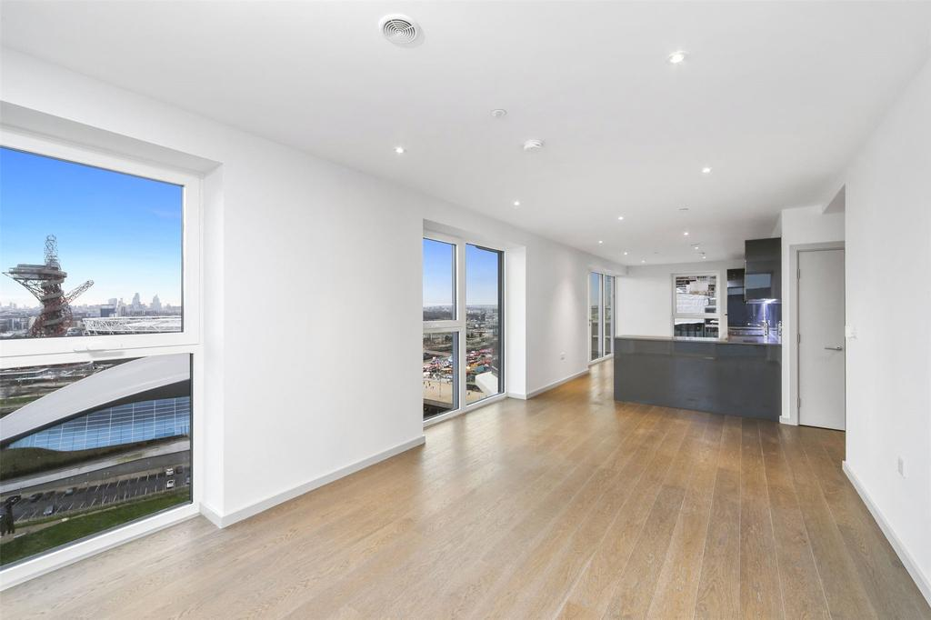 3 Bedrooms Penthouse Flat for sale in Lantana Heights, Glasshouse Gardens, Stratford, London