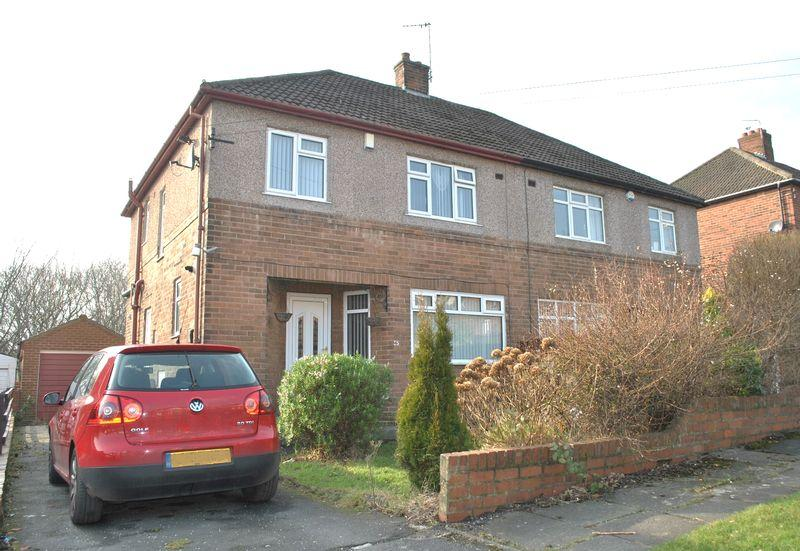 3 Bedrooms Semi Detached House for sale in Hedge Way, Off Allerton Road, Bradford, BD8 0AJ