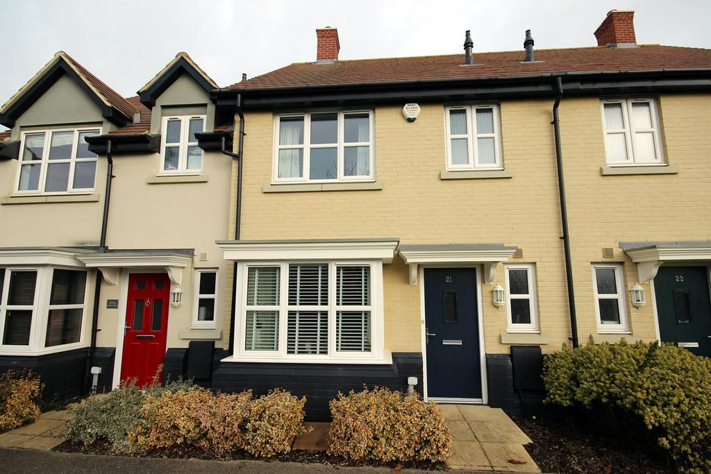 3 Bedrooms Terraced House for sale in Meadow Walk, Henlow, SG16
