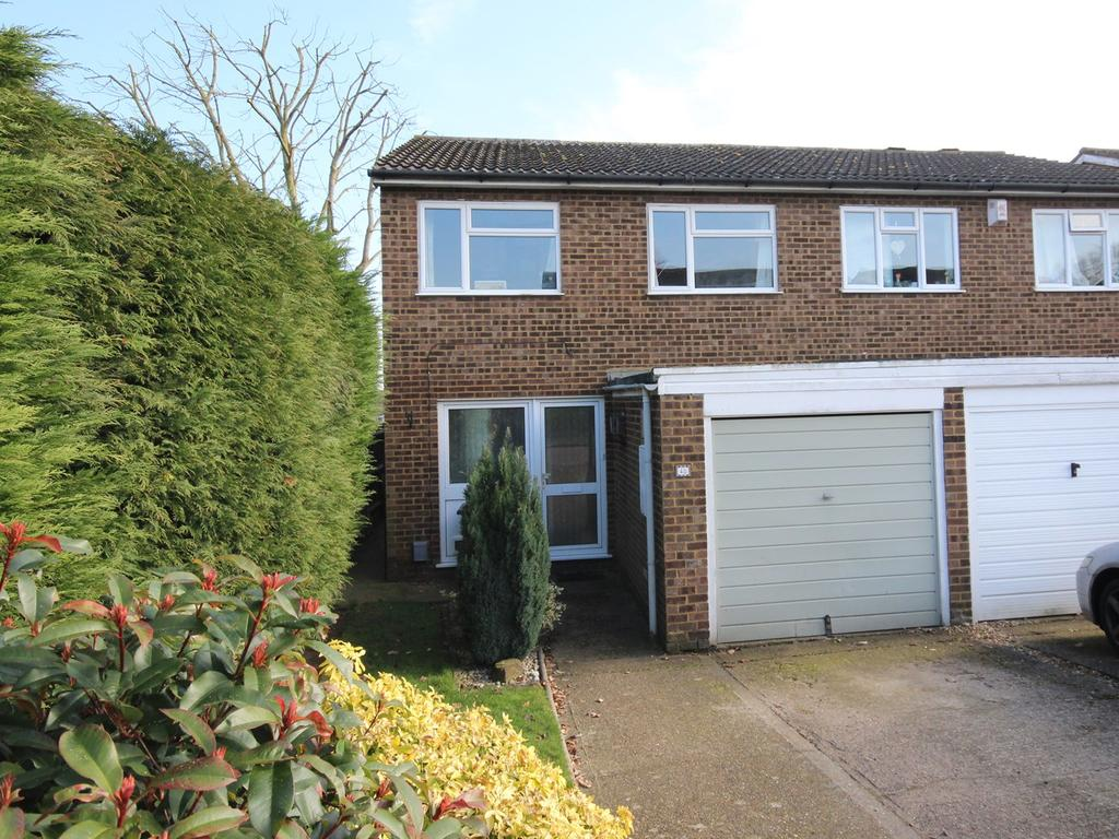 3 Bedrooms Semi Detached House for sale in Falcon Crescent, Flitwick, Bedford, MK45