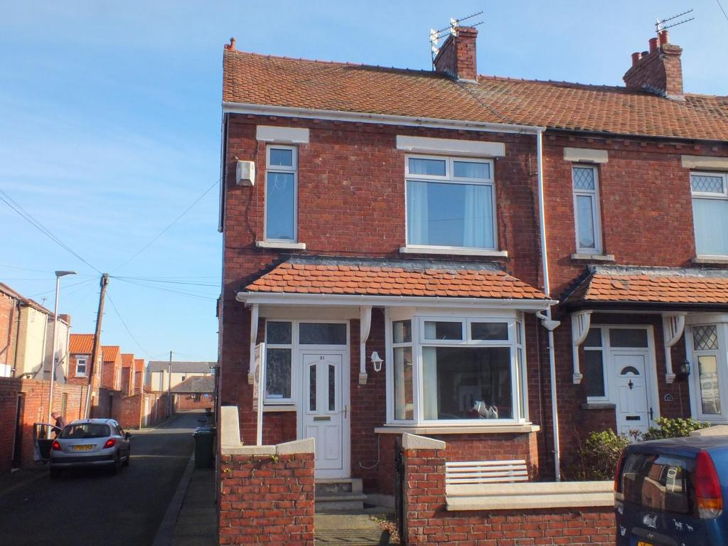 3 Bedrooms End Of Terrace House for sale in Winchester Avenue, Blyth