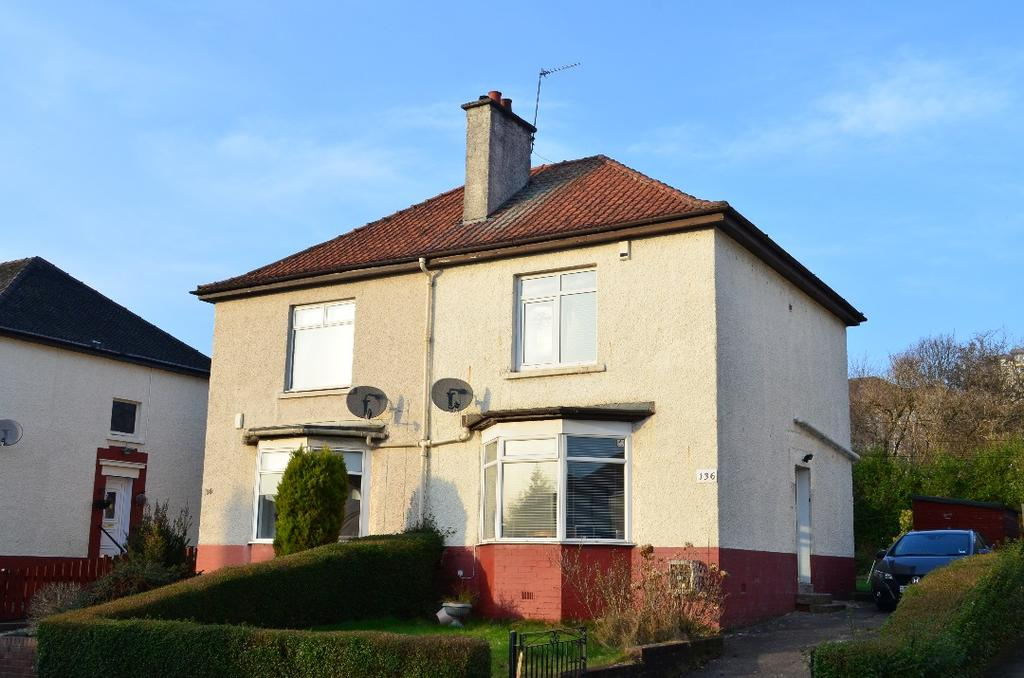 2 Bedrooms Semi Detached House for sale in Rampart Avenue, Knightswood, Glasgow, G13 3HX