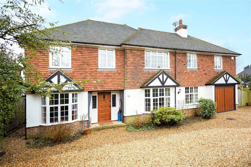 4 Bedrooms Detached House for sale in Poplar Road, Shalford, Guildford, Surrey, GU4