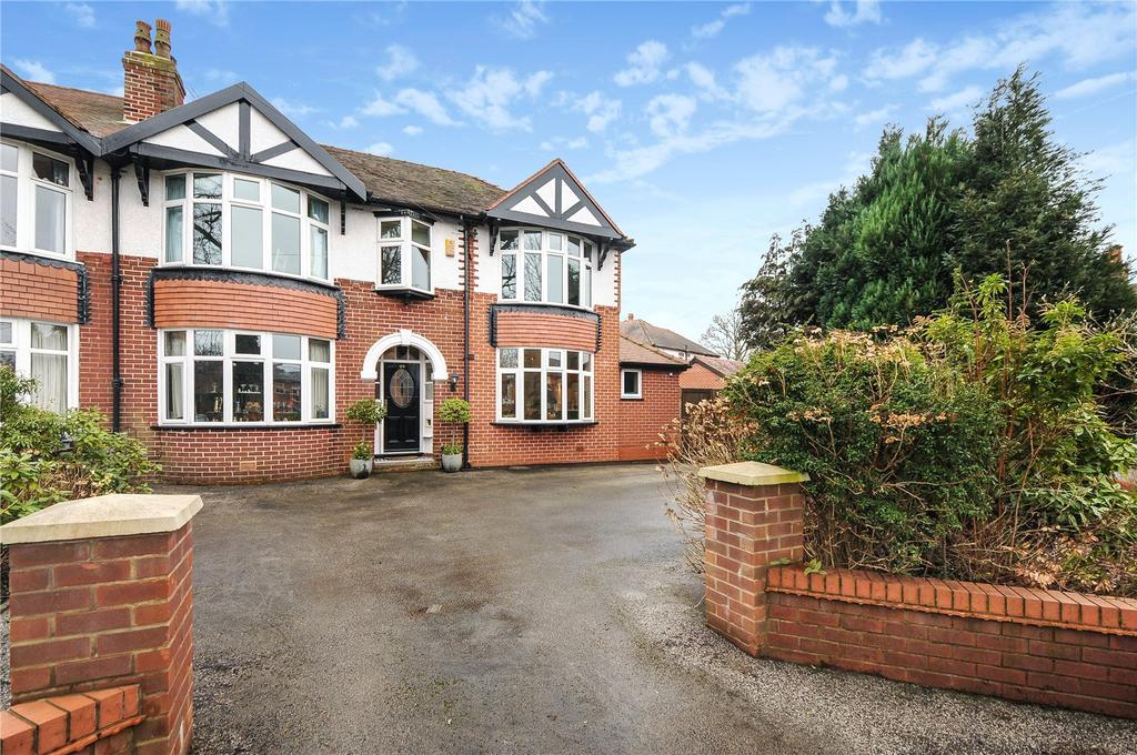 4 Bedrooms Semi Detached House for sale in Knutsford Road, Wilmslow, Cheshire, SK9
