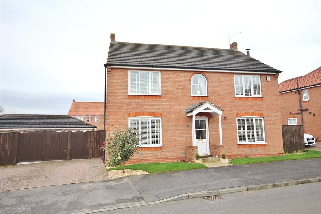 4 Bedrooms Detached House for sale in Jubilee Avenue, Faldingworth, LN8