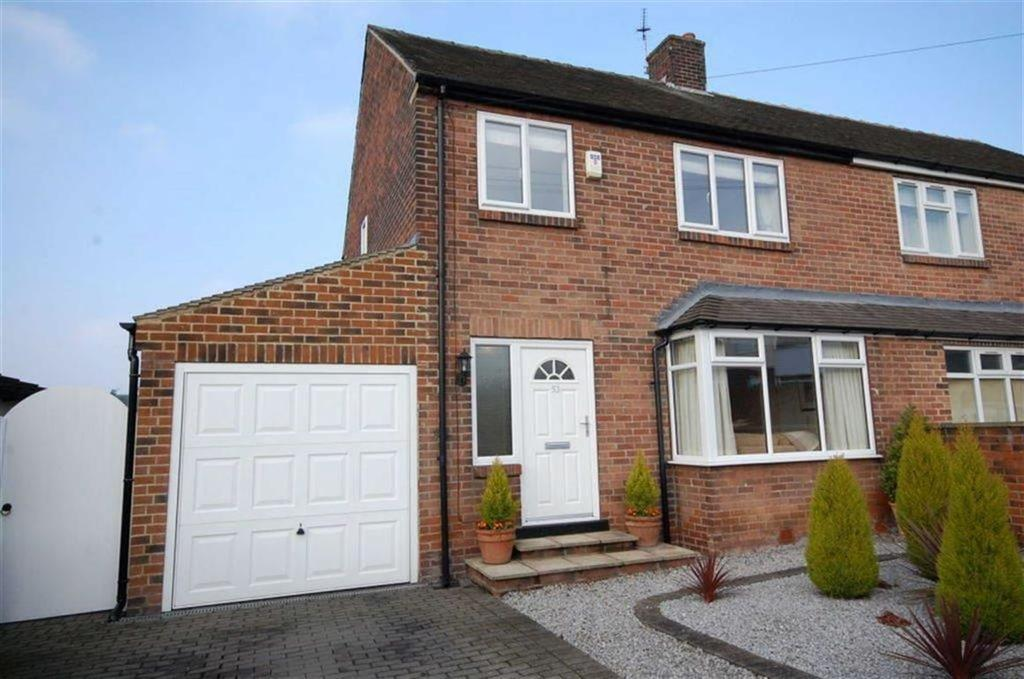 3 Bedrooms Semi Detached House for sale in Berwick Avenue, Heckmondwike, WF16