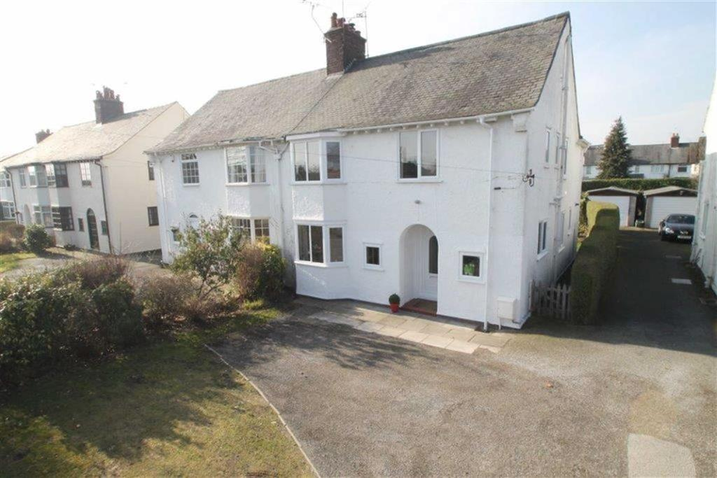 4 Bedrooms Semi Detached House for sale in Chester Road, Wrexham