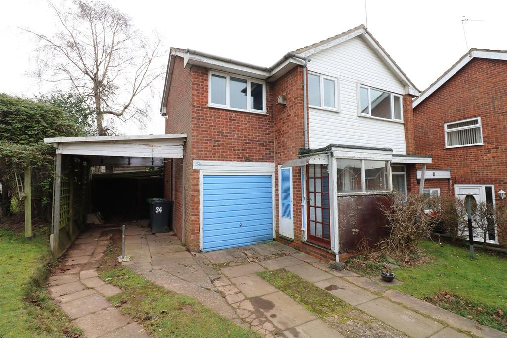 4 Bedrooms Detached House for sale in Hicks Close, Woodloes Park, Warwick