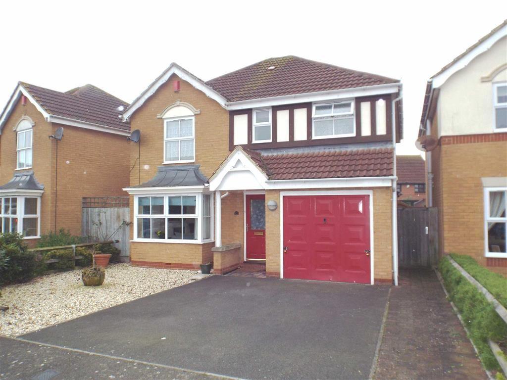 4 Bedrooms Detached House for sale in Bathurst Close, Burnham-on-Sea