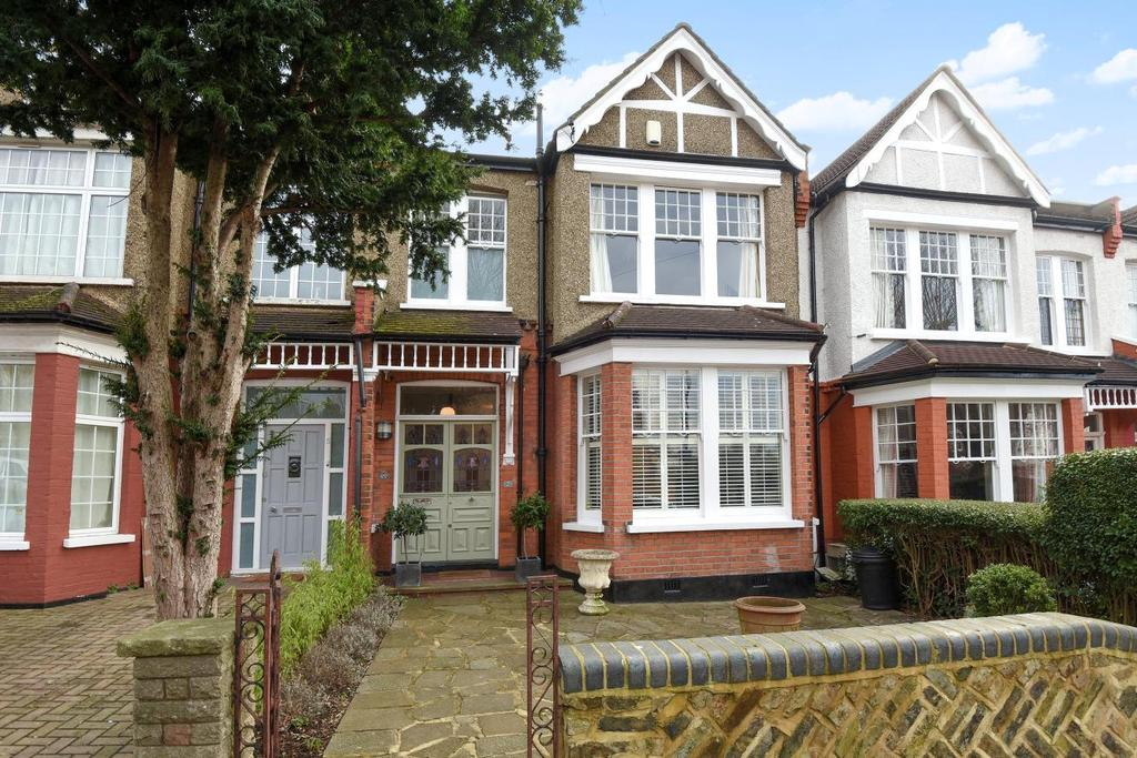 3 Bedrooms Terraced House for sale in Elmwood Avenue, Palmers Green