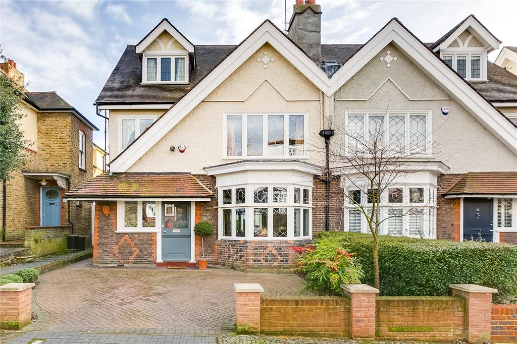 4 Bedrooms Semi Detached House for sale in Rodway Road, Putney, London
