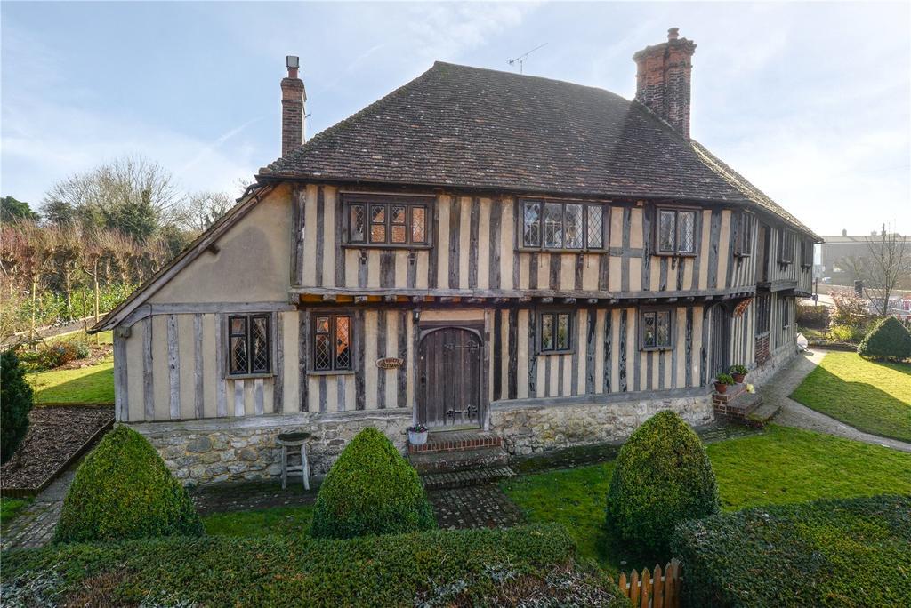 3 Bedrooms Semi Detached House for sale in Vineys Cottages, Upper Street, Leeds, Maidstone
