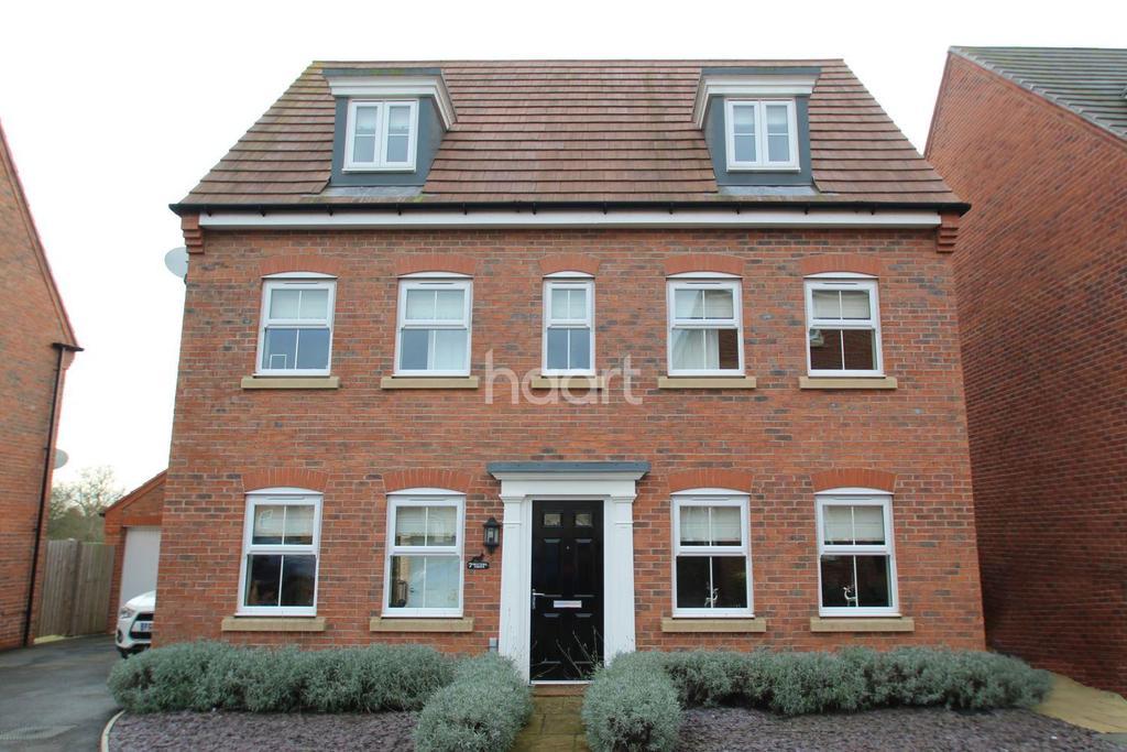 5 Bedrooms Detached House for sale in Dexters Grove, Hucknall