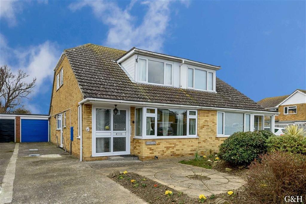 3 Bedrooms Semi Detached Bungalow for sale in Seabourne Way, Romney Marsh, Kent
