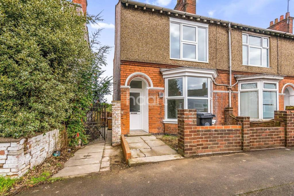 3 Bedrooms End Of Terrace House for sale in WELLINGBOROUGH ROAD, RUSHDEN