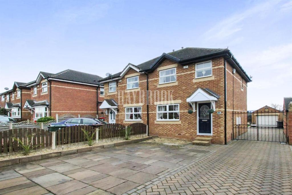 3 Bedrooms Semi Detached House for sale in Newland Avenue, Cudworth