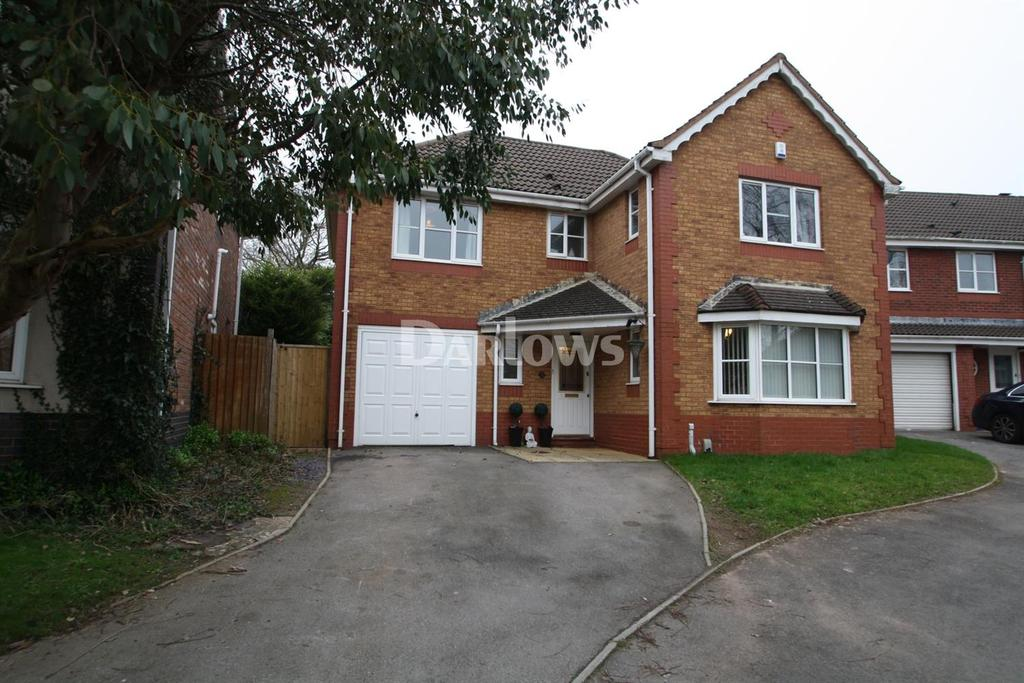 4 Bedrooms Detached House for sale in Idencroft Close, Pontprennau, Cardiff