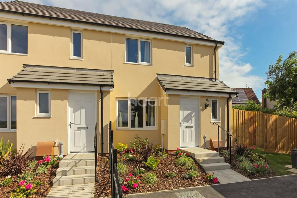 3 Bedrooms Semi Detached House for sale in Harford Mews, Cornwood Road, Ivybridge, Plymouth