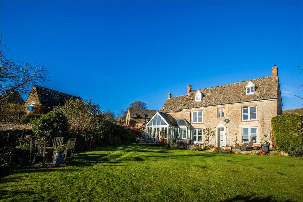 5 Bedrooms Detached House for sale in Maugersbury, Cheltenham, Gloucestershire, GL54