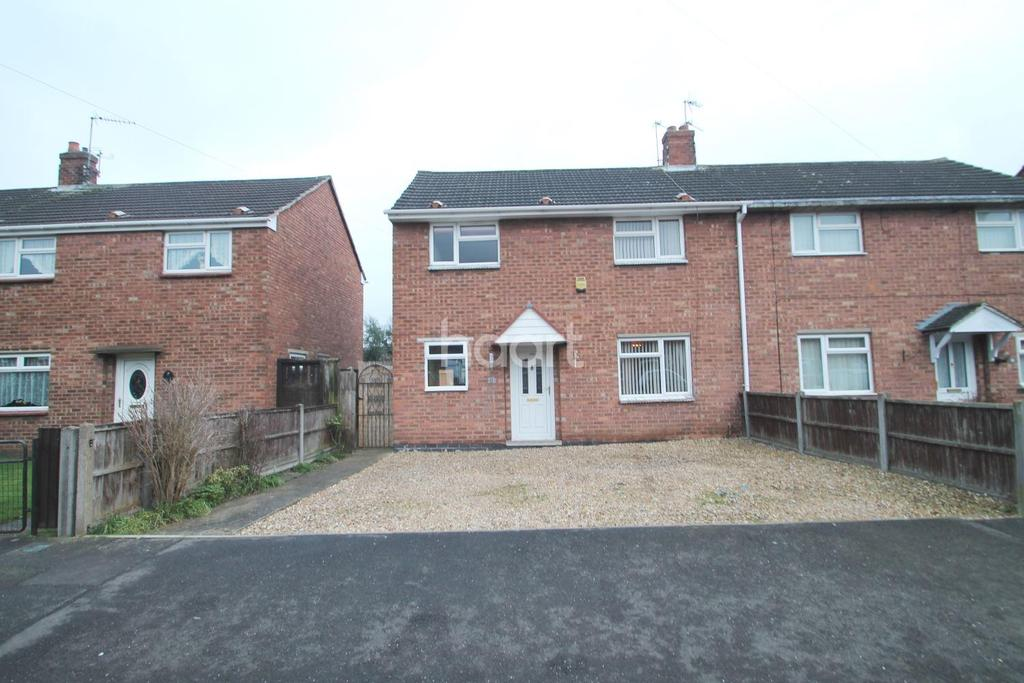 3 Bedrooms Semi Detached House for sale in Trinity Road, Newark