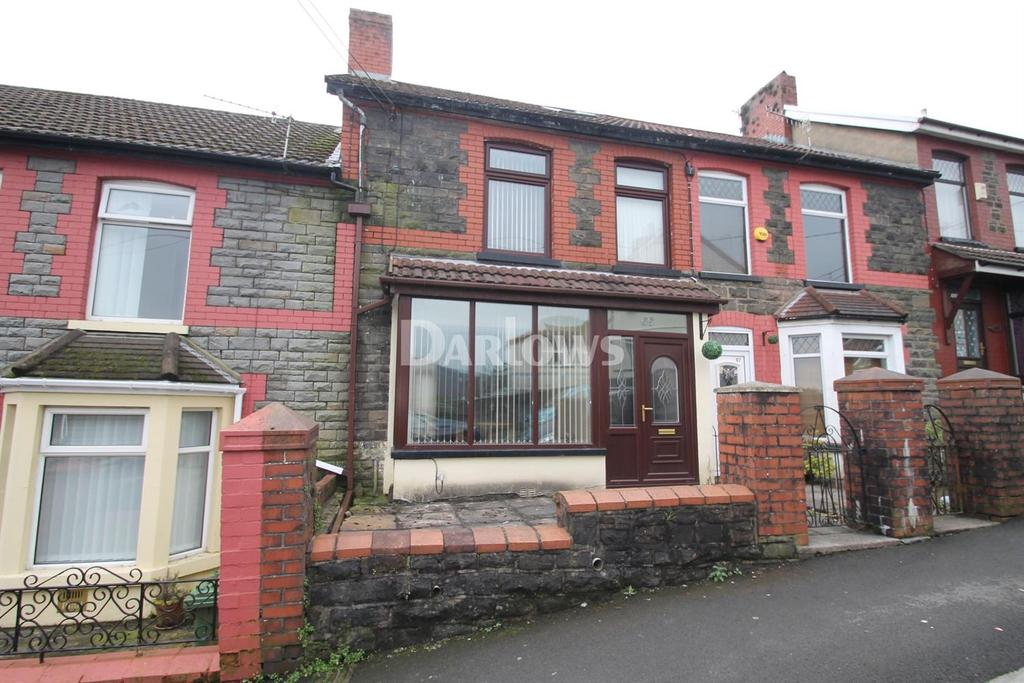 3 Bedrooms Terraced House for sale in Mound Road, Maesycoed