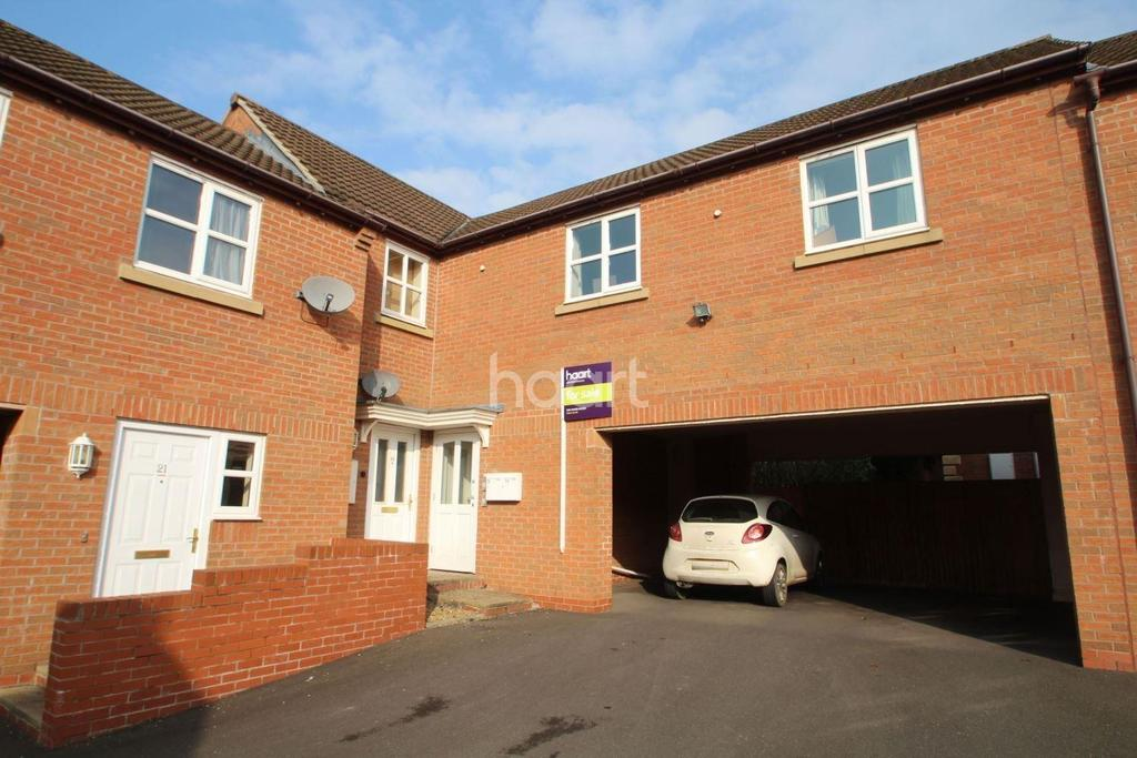 1 Bedroom Flat for sale in Colling Close, Loughborough