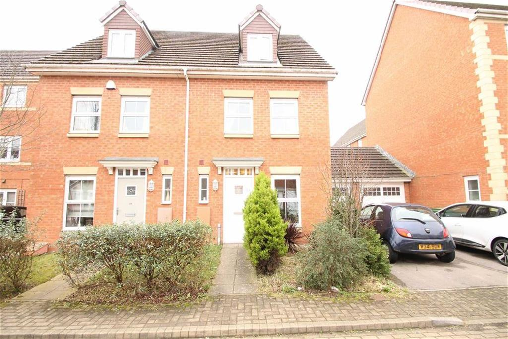 3 Bedrooms Town House for sale in Tasker Square, Llanishen, Cardiff