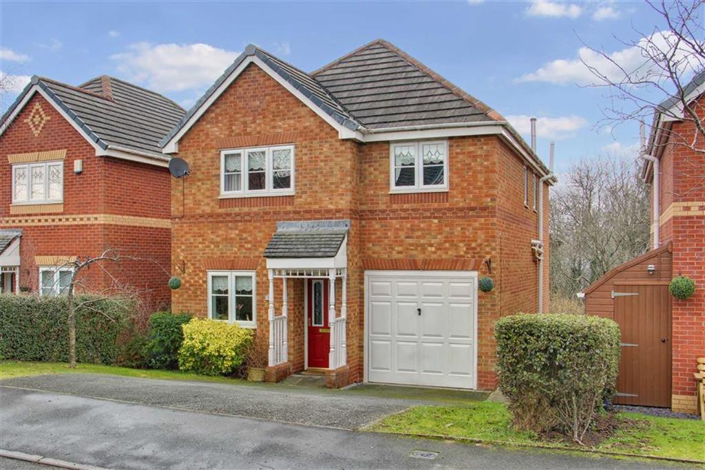 4 Bedrooms Detached House for sale in Ffordd Kinderley, Connahs Quay, Deeside, Flintshire