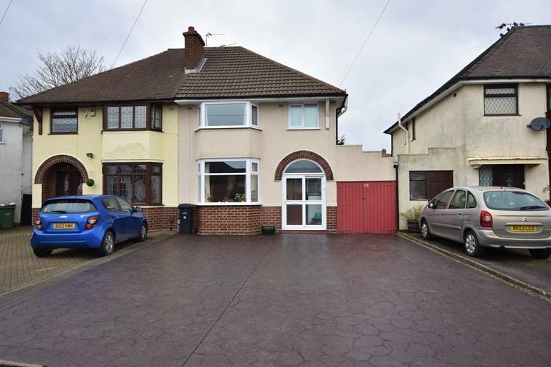 3 Bedrooms Semi Detached House for sale in Astley Crescent, Halesowen