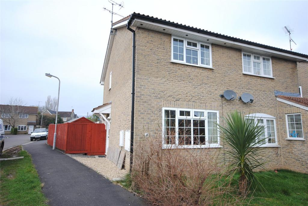 2 Bedrooms Semi Detached House for sale in Fiveways Close, Cheddar, Somerset, BS27