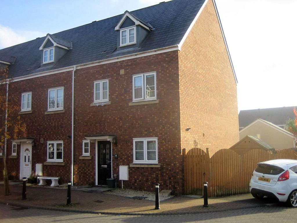 4 Bedrooms End Of Terrace House for sale in Pontarddulais, Swansea, SA4 8AF