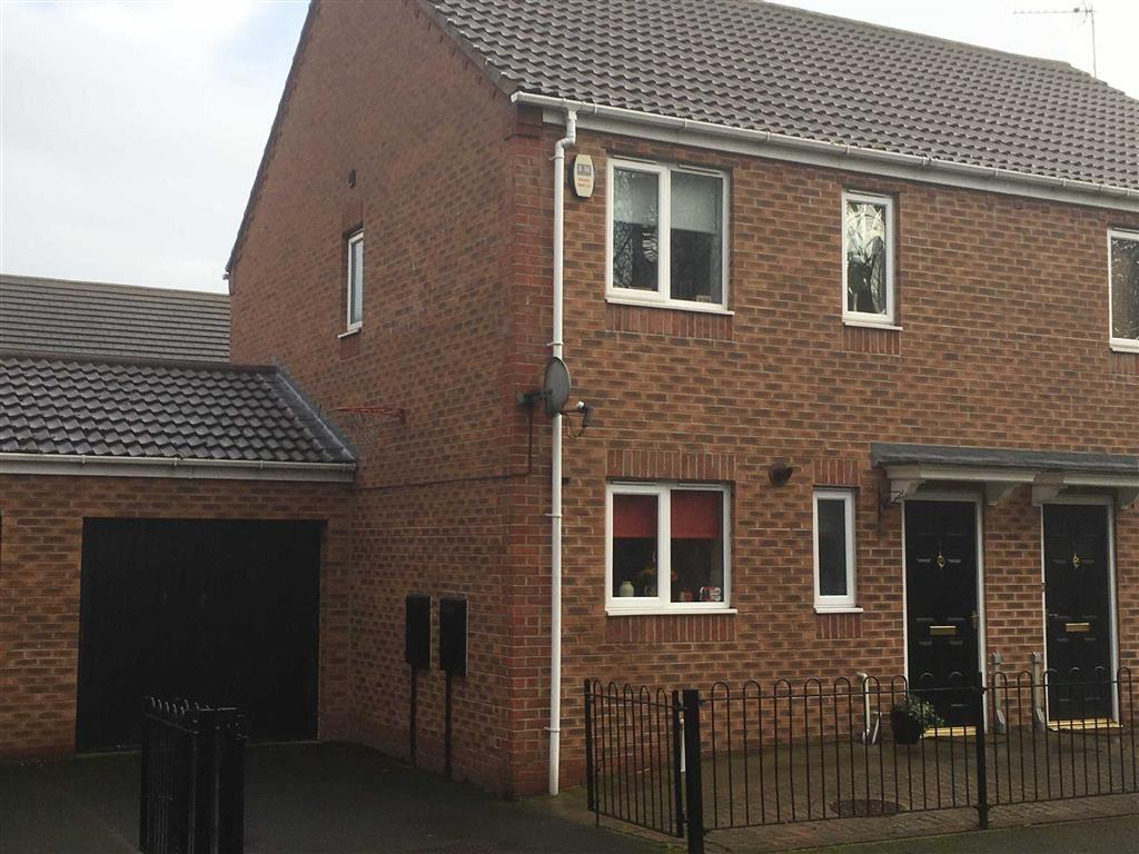 3 Bedrooms Semi Detached House for sale in Abbeyfield Close, Gateshead, Teams, Tyne And Wear