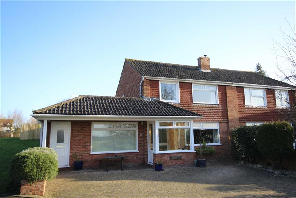 3 Bedrooms Semi Detached House for sale in Digby Drive, Tewkesbury, Gloucestershire
