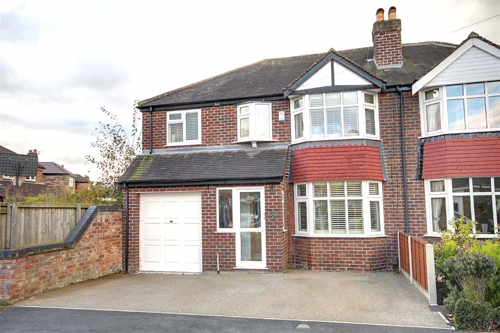 4 Bedrooms Semi Detached House for sale in Fairfax Avenue, Timperley, Cheshire