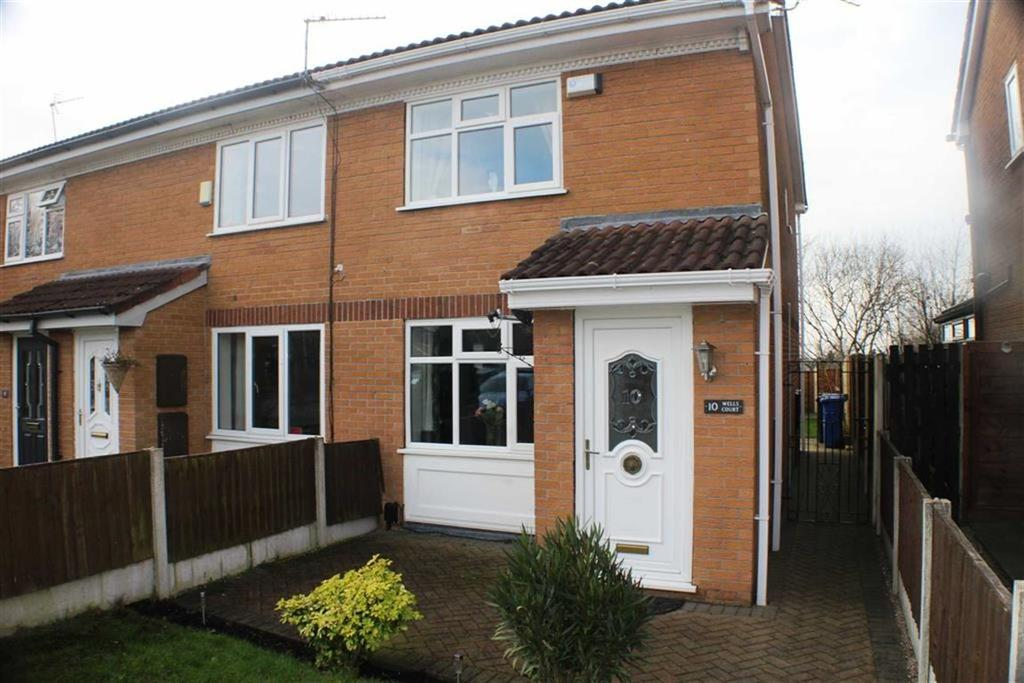 2 Bedrooms Mews House for sale in Wells Court, Richmond Park Estate, Dukinfield