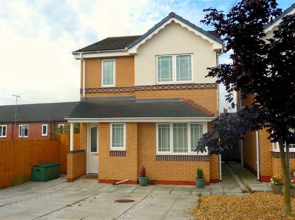 3 Bedrooms Detached House for sale in St Davids Court, Connahs Quay, Deeside, Flintshire