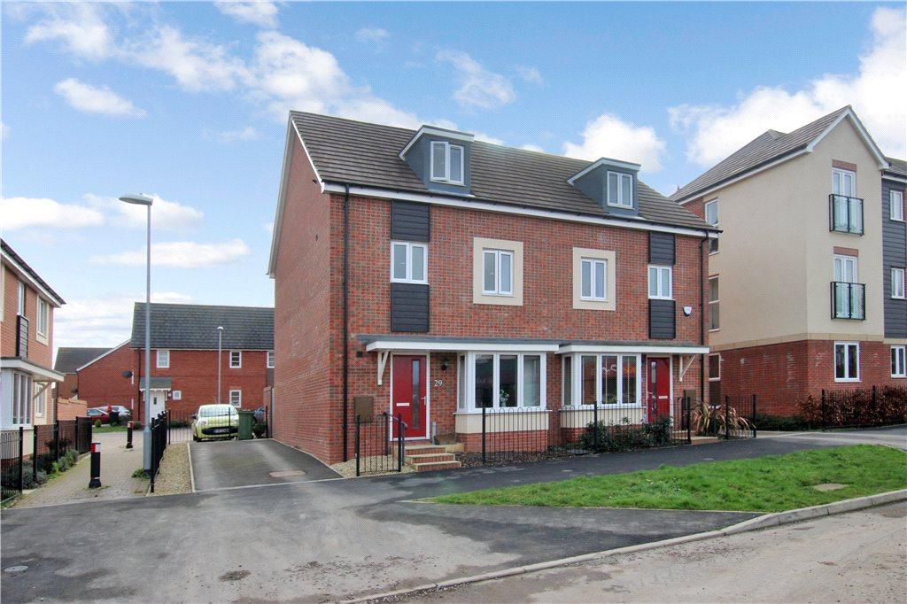 4 Bedrooms Semi Detached House for sale in Buttercup Walk, Malvern, Worcestershire, WR14