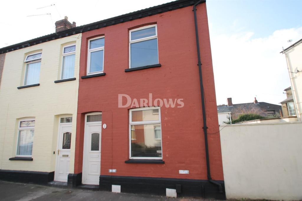 3 Bedrooms End Of Terrace House for sale in Devon Street, Grangetown