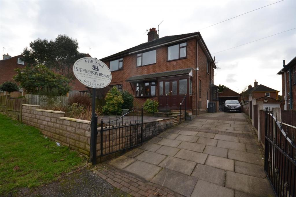 3 Bedrooms Semi Detached House for sale in Heaton Terrace, Porthill, Newcastle