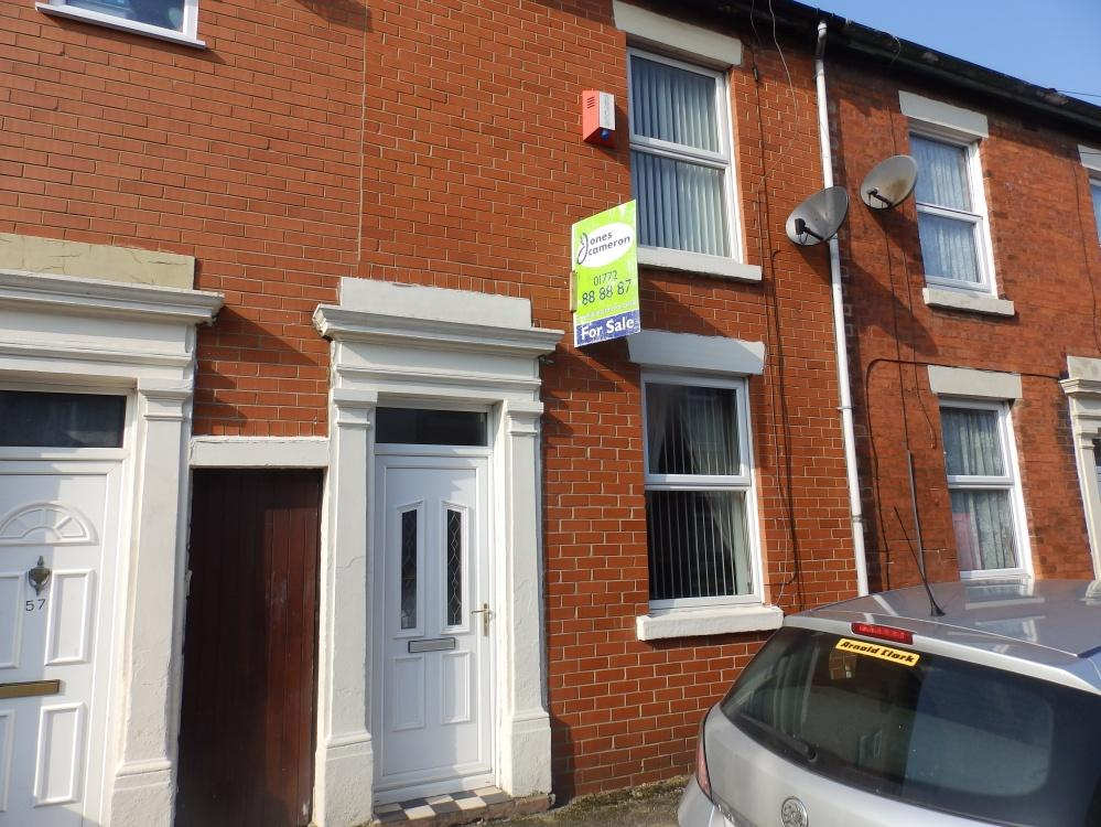 2 Bedrooms Terraced House for sale in Inkerman Street, Preston, PR2