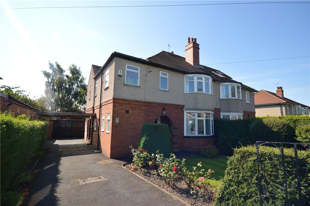 4 Bedrooms Semi Detached House for sale in Stonegate Road, Leeds, West Yorkshire