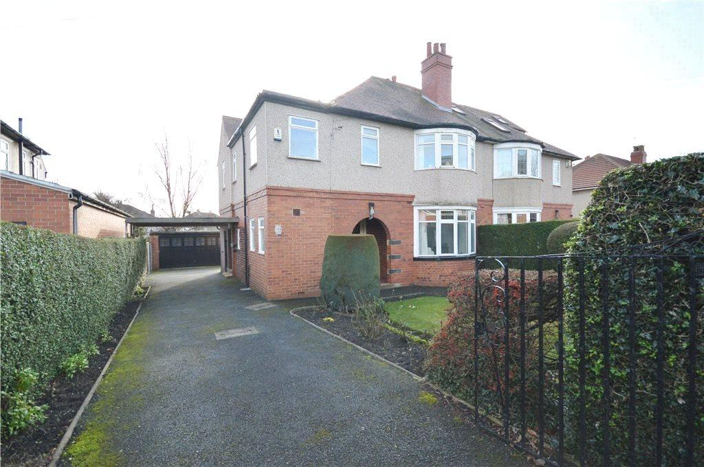 5 Bedrooms Semi Detached House for sale in Stonegate Road, Moortown, Leeds