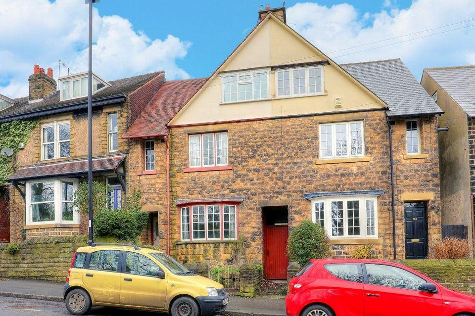 5 Bedrooms Terraced House for sale in 168 Carterknowle Road, Carterknowle, Sheffield S7 2EA